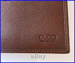 100% Authentic Brand New Gucci Men's Wallet withbox & dustbag