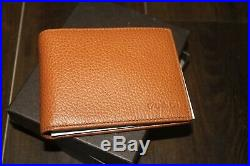 AUTH Gucci Men Leather Wallet