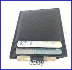 AUTHENTIC New Gucci Soho Black Leather Card Case #338331, NWT