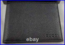 Authentic GUCCI Italy Italian Mens Wallet Brand New In Box Unused/Never Used