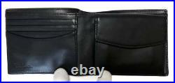 Authentic Paul Smith Wallet Multi Stripe Mens Leather