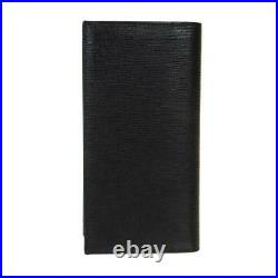 BALLY Black Calf Leather Mens Long Bifold Wallet 6221846 00 Womens Gift Auth
