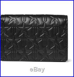 BRAND NEW $550 GIVENCHY Star-Embossed Leather Cardholder