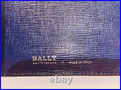 Bally Mens Bifold Leather Wallet