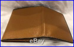 Brand New RARE VALEXTRA Wallet With Coin Holder, Men And Women NWT MSRP $785