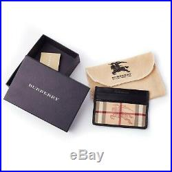 Burberry Card Holder Wallet with Iconic Horse Emblem RRP £245 Limited Edition