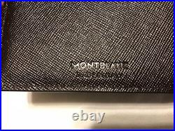 CLEARANCE NWT MONT BLANC Men's Classic Brown Sartorial Bifold Wallet ITALY