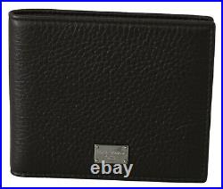 DOLCE & GABBANA Wallet Leather Brown Leather Bifold Mens Card Holder RRP $360