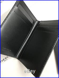 GIVENCHY Star-Printed Leather Bifold Cardholder