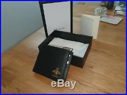 Genuine Gucci Animalier Leather Wallet