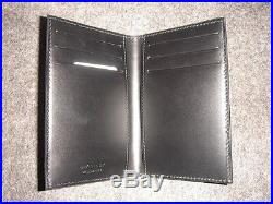 Givenchy STARS LOGO Leather Pocket Organizer/Card Holder/Compact Wallet