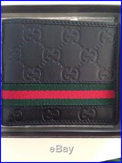 Gucci Bi-fold Wallet 100% Authentic