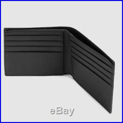 Gucci GG snake mens wallet black supreme leather new genuine rrp 255£