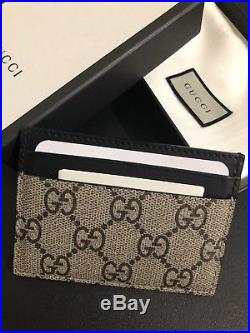 Gucci Leather Wallet Card Holder Mens