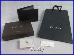 Gucci Mens 292534 Microguccissima Coin Pocket Brown Leather Bifold Wallet Nwt