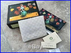 Gucci Mens Wallet Leather Classic GG Logo Made in Italy