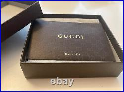 Gucci mens leather wallet