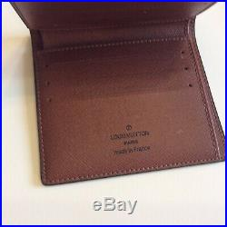LOUIS VUITTON mens Wallet Coated Fabric Cowhide Leather Lining Monogram