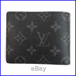 LOUIS VUITTON x FRAGMENT AUTHENTIC WALLET MULTIPLE M64439 IN US! SOLD OUT! W1
