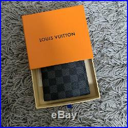 Louis Vuitton Black Damier Leather Marco Wallet with Coin Pouch RRP £380