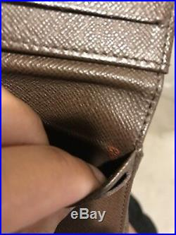 Louis Vuitton Wallet Pre-Owned 100% GENUINE AUTHENTICATE CODE CA1171