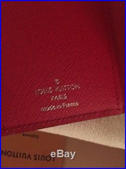Louis Vuitton x Supreme Red Epi Leather Chain Wallet New In Box