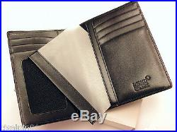 MONTBLANC Meisterstuck Wallet 7cc with ID Card Holder calf leather