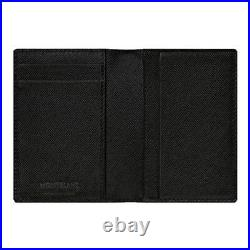 MONTBLANC Sartorial Business Card Holder 113223 Mens Wallet Bifold Authentic New
