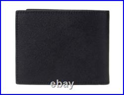 MONTBLANC Satorial Leather Half Wallet 113215 Men Black with Free Gift