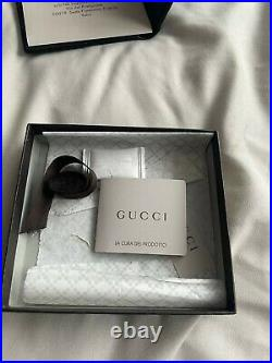 Mens Black Leather Gucci Wallet