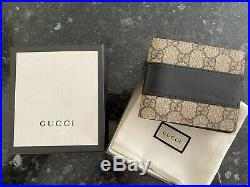 Mens Gucci Brown Leather Wallet RRP £345