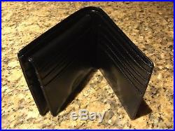 Mont Blanc Black Leather Wallet 30608 / 14095 brand new