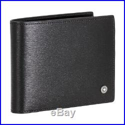 Montblanc 4810 Westside Men's Small Leather Wallet 6CC With View Pockets 114688