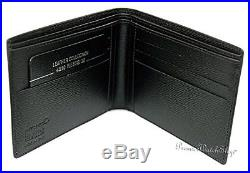 Montblanc 4810 Westside Wallet 6CC Black Leather 38036