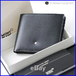 eac7c8012126c Montblanc Meisterstuck 6cc Black Leather Wallet 14548. New. Free Shipping