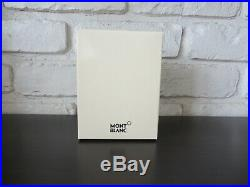 Montblanc Meisterstuck Business Card Holder Wallet Gusset Brown Italy, NWT