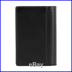 Montblanc Meisterstuck Men's Small Leather Business Card Holder with Gusset 7167