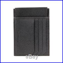 Montblanc Sartorial Men's Small Leather Pocket Card Holder 4CC with ID 116343