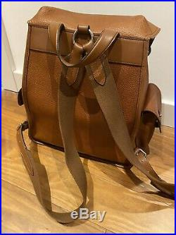 Mulberry Heritage Backpack Natural Oak Grain Leather