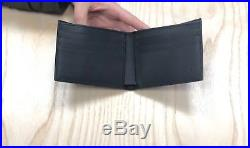 NEW Gucci Men Wallet GG Micro Guccissima card holder Black Leather MADE IN ITALY