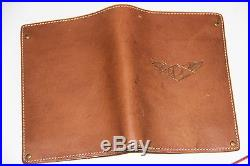 NEW Ralph Lauren RRL Leather Passport Case Bifold Wallet