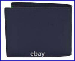 New Fendi Men's I SEE YOU Fluorescent Bug Eyes Leather Bifold Wallet 7M0273