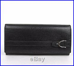 New Gucci Men's Leather Continental Wallet withSpur Detail 295616 1000