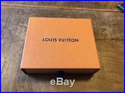 New Louis Vuitton Brown Chequered Leather Mens Wallet with box