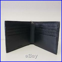 New and Authentic Balenciaga Black St. Losange Chain Men's Leather Wallet with box
