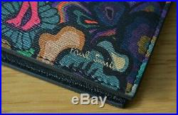 PAUL SMITH DREAMER psychedelic sun print leather billfold wallet