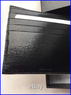 Paul Smith Men's Bifold Multi Wallet 100% Leather Made In Italy With Box