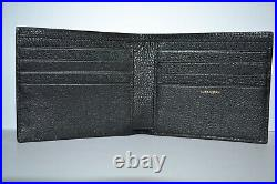 Paul Smith Mens Psychedelic Sun Hologramme Leather Billfold Wallet Brand New