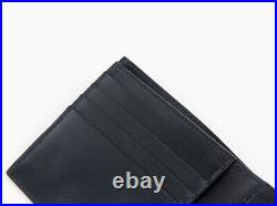 Paul Smith Wallet Black Calf Leather Mens Womens Bifold M1A 4832 A40401 PR Auth