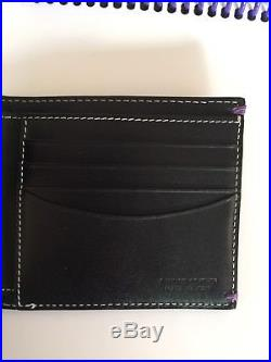Rare Paul Smith Naked Lady Mens Wallet Red Nails Telephone Black Leather